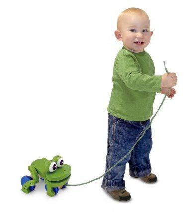Children's Frolicking Frog Pull Toy by Melissa & Doug