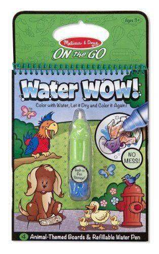 Melissa & Doug Water Wow Animals, Vehicles, Fairy Tale Bundle