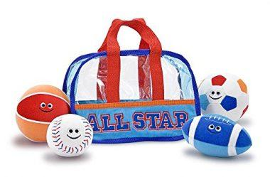 Melissa & Doug Sports Bag Fill and Spill Toy