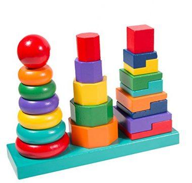 My First Geometric Stacker Toy