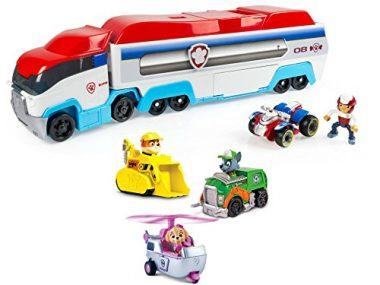 Paw Patrol Paw Patroller with Paw Patrol Racers 3-Pack Vehicle Set, Bundle