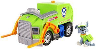 Paw Patrol- Rocky's Lights and Sounds Recycling Truck