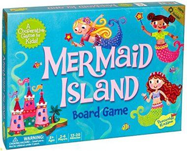 Mermaid Island Board Game by Peaceable Kingdom