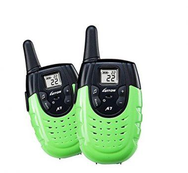 Radio Walkie Talkie Funny Gifts & Durable Outdoor Pretent Play Cool Audio Toys for Kids