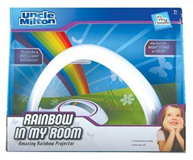 Rainbow In My Room Tabletop Décor Night Light Projector by Uncle Milton