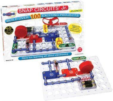 Snap Circuits Jr. SC-100 Electronics Discovery Kit by Elenco