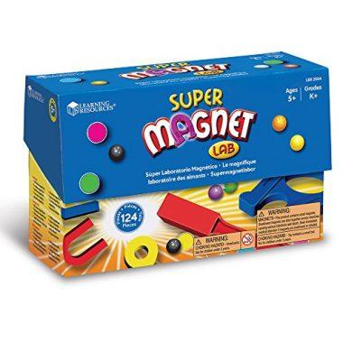 Super Magnet Lab by Learning Resources