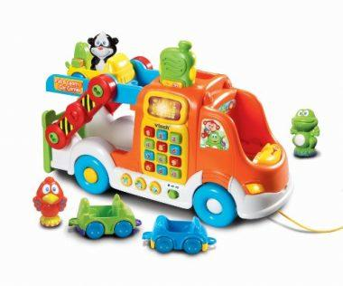 Car Carrier Pull Toy