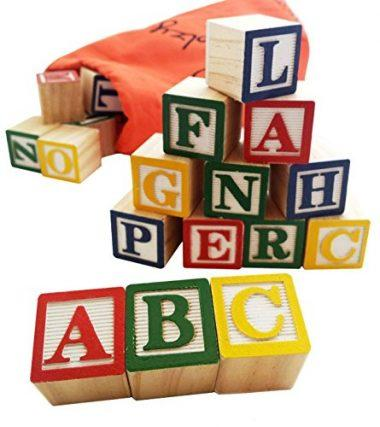 30 Alphabet Blocks