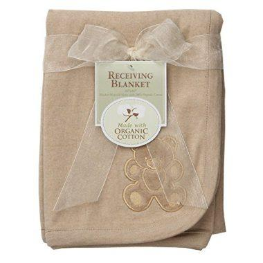 Embroidered Swaddle Blanket by American Baby Company