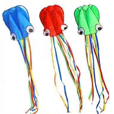 BeMax Soft Octopus Easy Flyer in Packs of 3