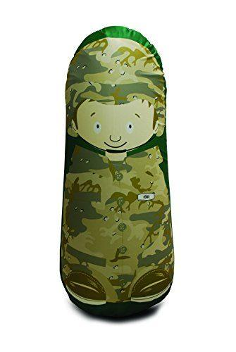 Bonk Fit Inflatable Bop Bag Toy with Standing Punching Bag