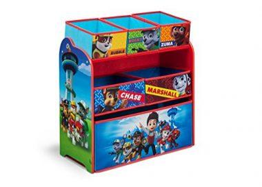 Delta Children Nick Jr. PAW Patrol Multi-Bin Toy Organizer