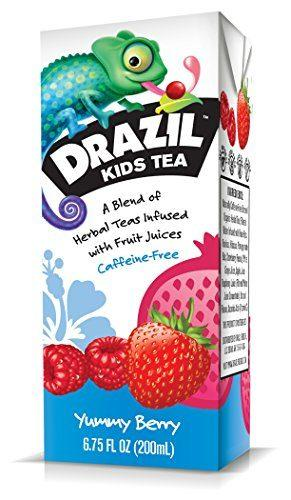 Drazil Kids Tea, Yummy Berry
