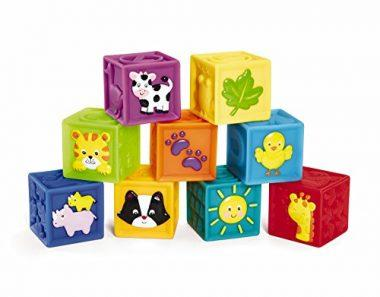 Squeak 'n Stack Blocks Baby Toy