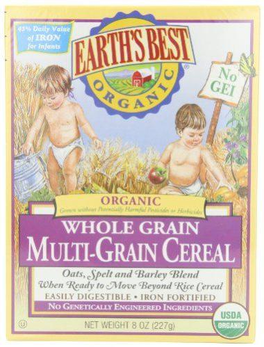 Earth's Best Organic, Whole Grain Multi-Grain Cereal
