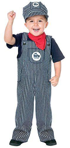 Fun World's Baby's Train Engineer Toddler Costume