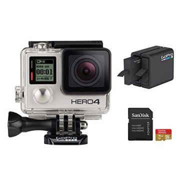 GoPro HERO 4 Silver Edition 12MP Waterproof Camera