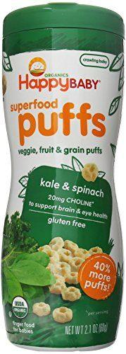 Happy Baby Organic Superfood Puffs