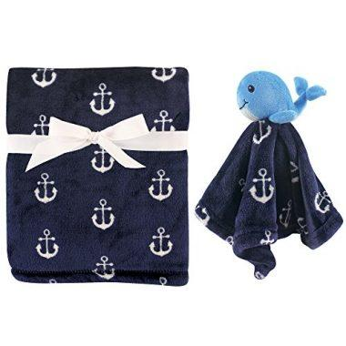 Plush Blanket and Security Blanket by Hudson Baby