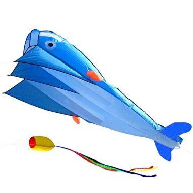 3D Dolphin Frameless Beach Kite