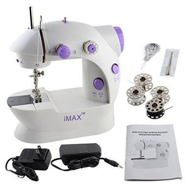 Imax FHSM-202 Mini 2-Speed Sewing Machine With Foot Pedal