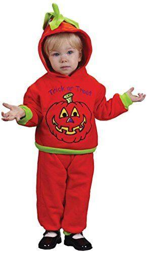Infant Soft N ' Comfy Pumpkin Costume by Fun World Costumes