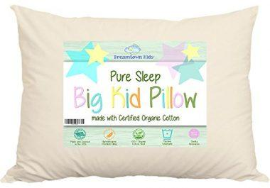 Large Toddler Pillow by Dreamtown Kids For Growing Kids