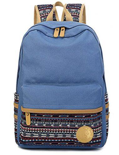 Leaper Casual Style Lightweight Canvas Laptop Bag