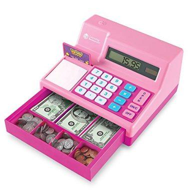 Pretend & Play Cash Register Assorted Pink Playset