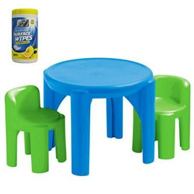 Little Tikes Kids Plastic Play and Activity Table and Chair Set
