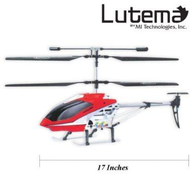 Lutema Mid-Sized 3.5CH Remote Control Helicopter