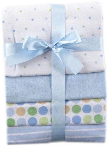 Flannel Receiving Blankets by Luvable Friends