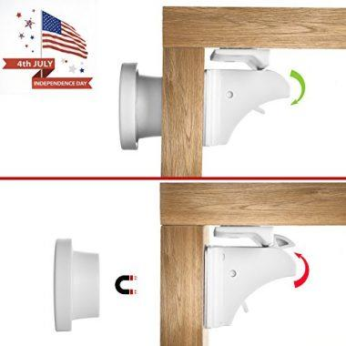 Magnetic Cabinet Locks and Drawer Flexible Latches
