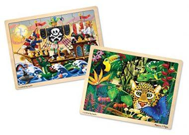 Wooden Jigsaw Puzzles Set