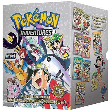 Pokémon Adventures Gold & Silver Box Set