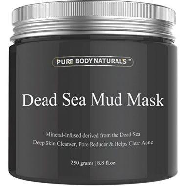 Pure Body Naturals Purifying Dead Sea Mud Mask Facial Treatment