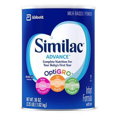 Abbott Similac Advance Infant Formula with OptiGro