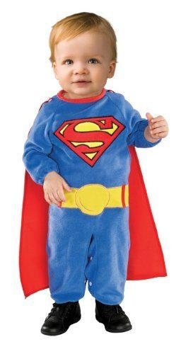 Superman Romper With Removable Cape Superman