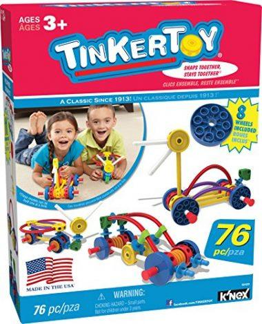 TINKERTOY – Wild Wheels Building Set