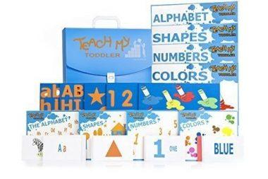 Learning Kit Puzzles Alphabet Flashcards Numbers Colors Shapes