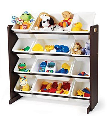 Tot Tutors Kids' Toy Storage Organizer with Storage Bins
