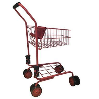 Toy shopping cart for kids and toddler