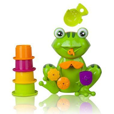 Zig Zag Kid Green Frog Bath Tub Toy
