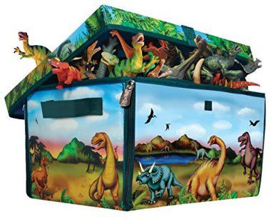 Dinosaur Collector Toy Box U0026 Play Set
