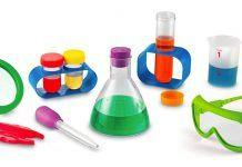 Take a look at our review of the Primary Science Lab Set R.