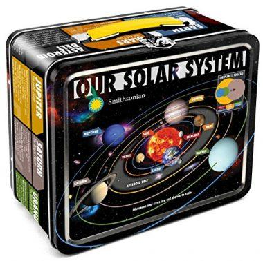 Smithsonian Our Solar System Large Tin Fun Box by Aquarius