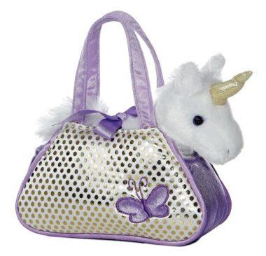 Unicorn Fancy Pals Pet Carrier by Aurora