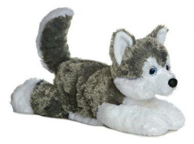 Aurora World Shadow Siberian Husky Plush Dog