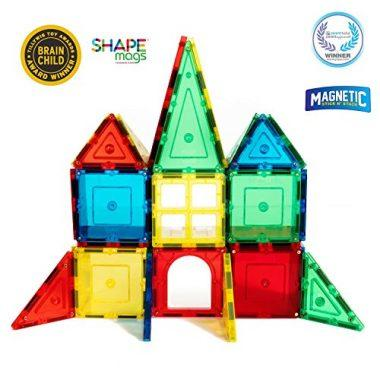 Shape Mags Junior Set by Magnetic Stick N Stack